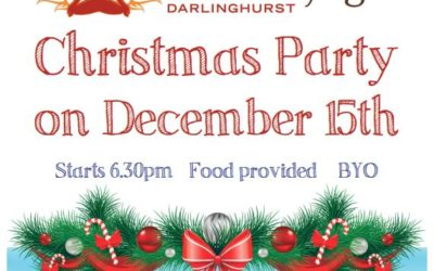 Darlo Christmas Party on December 15th